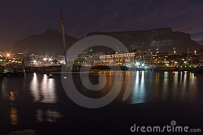 Waterfront and Table Mountain