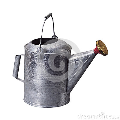 Free Watering Can Stock Photography - 27179552