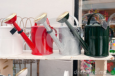 Watering can collection