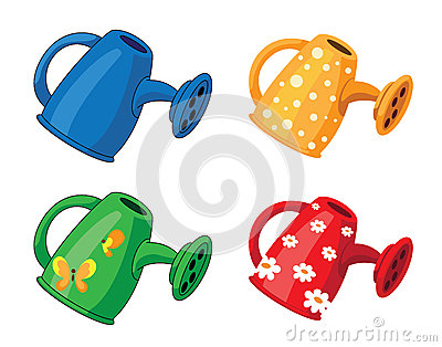 Watering can set