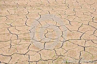 Waterless land