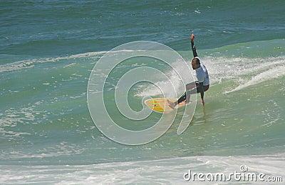 Waterman Challenge - Surf - Edu Exteberria Editorial Stock Photo