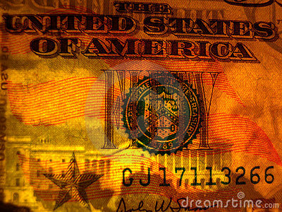 Watermark face US $50 bill
