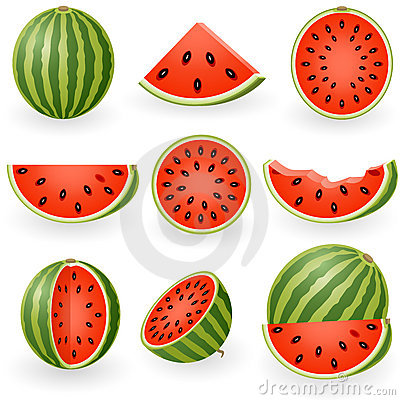 Free Watermelon Stock Images - 12422804