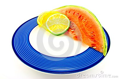 Watermelon with Citrus Slices