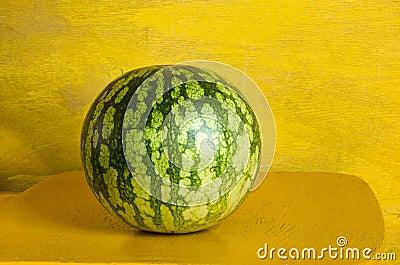 Watermelon closeup juicy fruit healthy food object