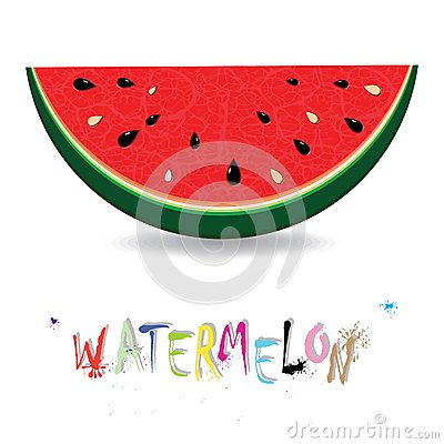 Watermelon fresh slices background. Red sweet juice pattern