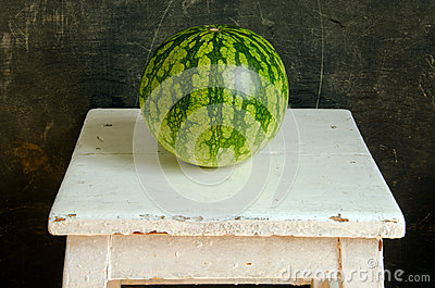 Watermelon healthy food nutrition on table