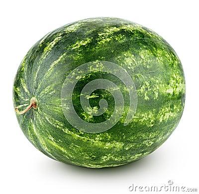 Free Watermelon Isolated On White Stock Photos - 117310523