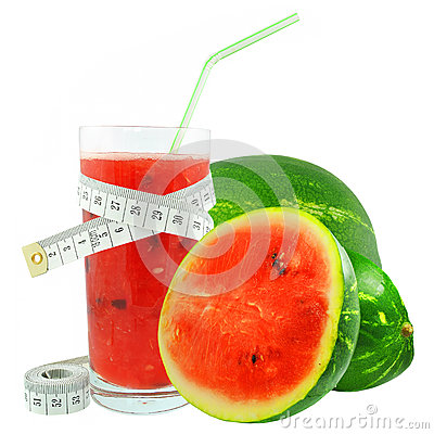 Watermelon juice and meter