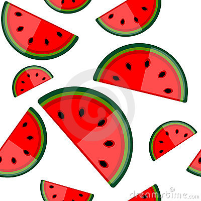 Free Watermelon Seamless Background For Your Design Stock Photography - 17050282