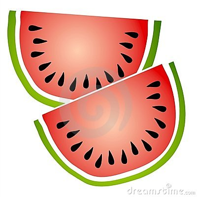 Watermelon Slices Clip Art