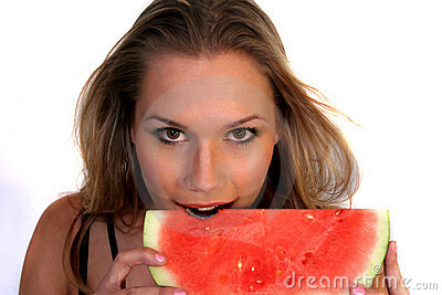 Watermelon & Woman