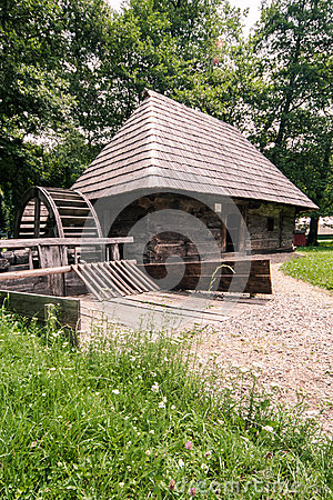 Watermill in the Village Museum