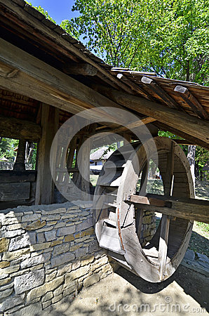 Watermill wood