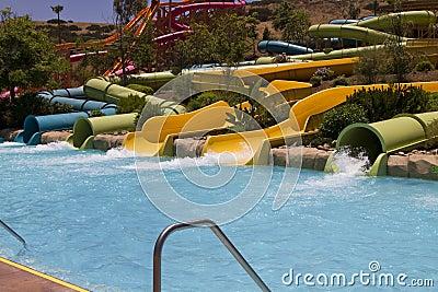 Waterpark Amusement in the Desert