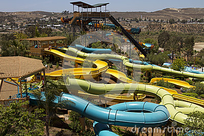 Waterpark Amusement in the Desert