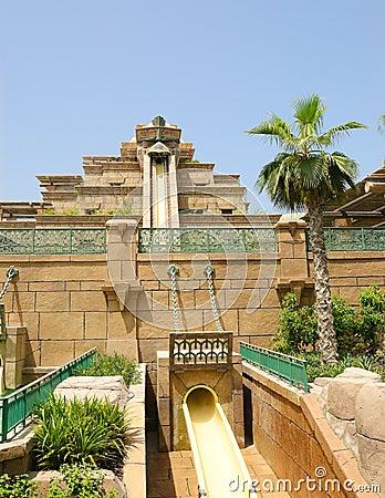 Free Waterpark Of Atlantis The Palm Hotel Stock Photos - 13426023