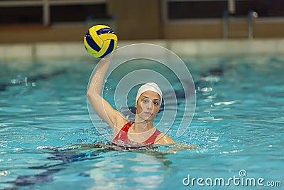 Waterpolo girl