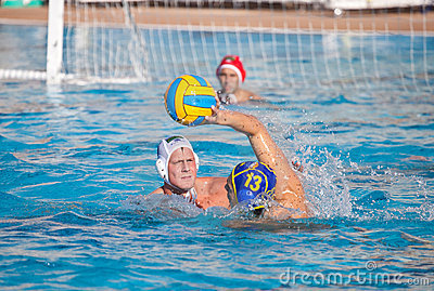 Waterpolo players Editorial Stock Image