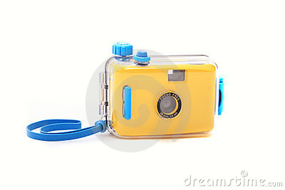 Waterproof underwater camera