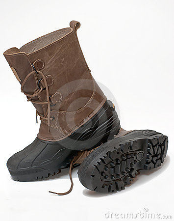 Waterproof winter boots