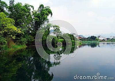 Waterside town