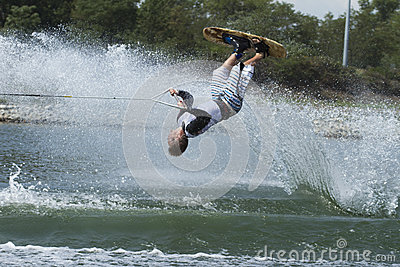 Waterski Editorial Stock Image