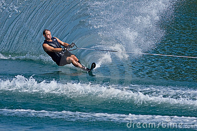 Waterskiier Editorial Photo