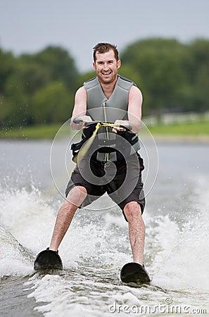 Free Waterskiing Royalty Free Stock Image - 10821756