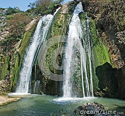 Waterval in Israël