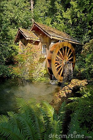 Free Waterwheel Royalty Free Stock Photos - 7277878