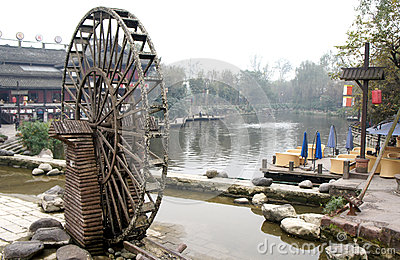 Waterwheel in china