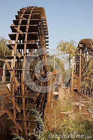 Waterwheel in a Chinese Nunnery