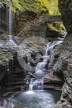 Free Watkins Glen Gorge Royalty Free Stock Photography - 104522127