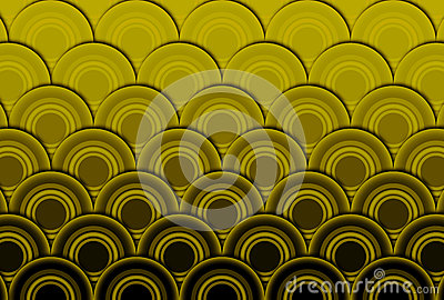 Wave abstract background