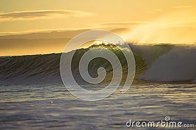 Wave Crashing Morning