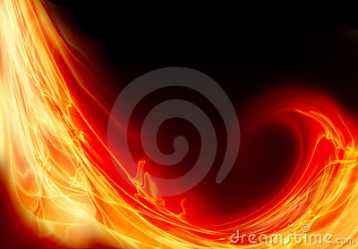 Wave of fire