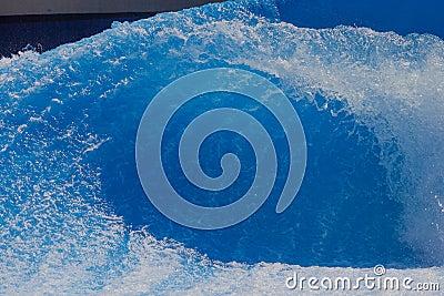 Wave Flowing Wave-Pool