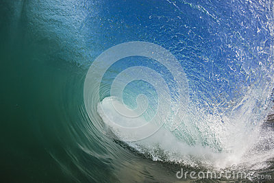 Wave Hollow Inside Water