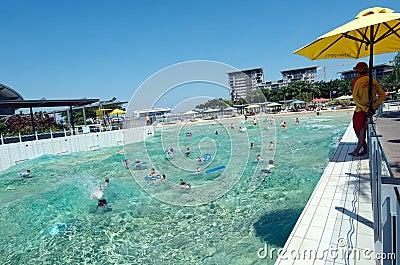 Wave Lagoon, Darwin Editorial Stock Photo