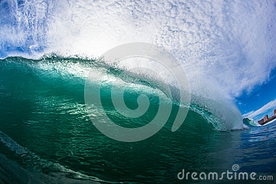 Wave Lip Crashing Water Photo