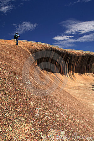 Wave Rock, Western Australia Editorial Photo