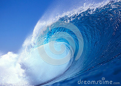 Wave of the sea
