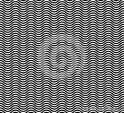 Free Wave  Seamless Pattern Stock Photos - 56324713