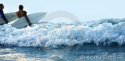 Wave and Surfing