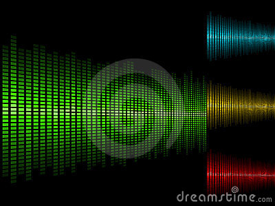 Waveform Background Stock Photography - Image: 11246652