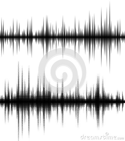 Free Waveform Background Royalty Free Stock Photography - 53029167