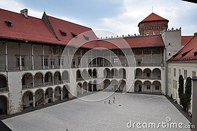 Wavel inner courtyard