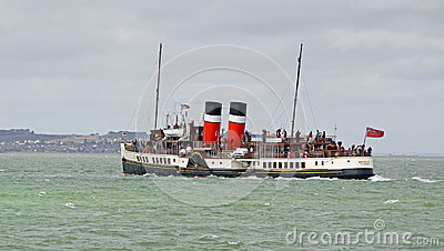 Waverley paddle steamer Editorial Stock Photo